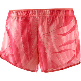 Salomon Agile Shorts Dame desert flower/dubarry/hibiscus